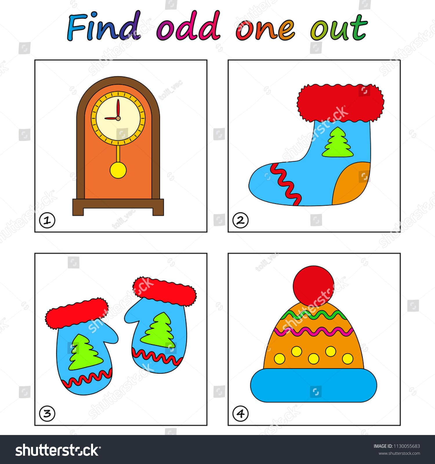 Find Odd One Out Game For Kids Worksheet Visual Educational Game For Children Ad Affiliate Educational Games Games For Kids Educational Games For Kids [ 1600 x 1500 Pixel ]
