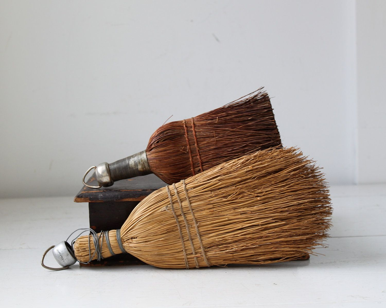 These old-fashioned whisk brooms beat the pants off of ugly