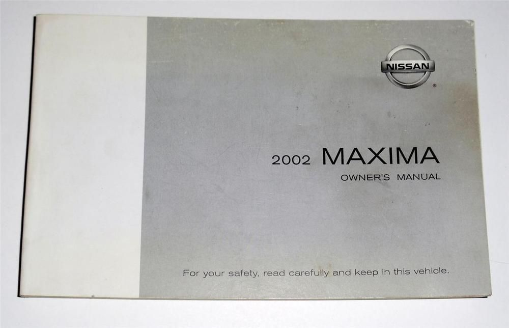 2002 nissan maxima owners manual book owners manuals pinterest rh pinterest com 2006 Nissan Maxima 2015 Nissan Maxima
