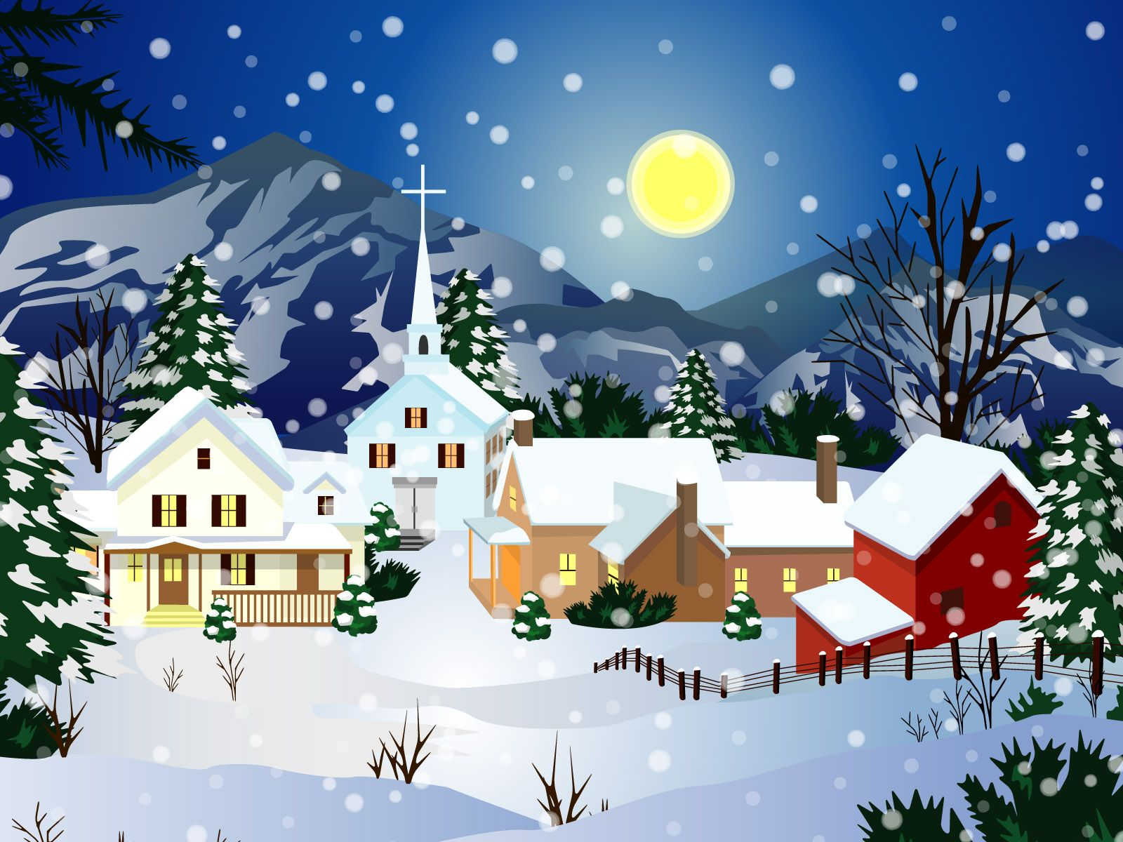25 Best Colorful Christmas Wallpapers: 2014 | Christmas wallpaper ...