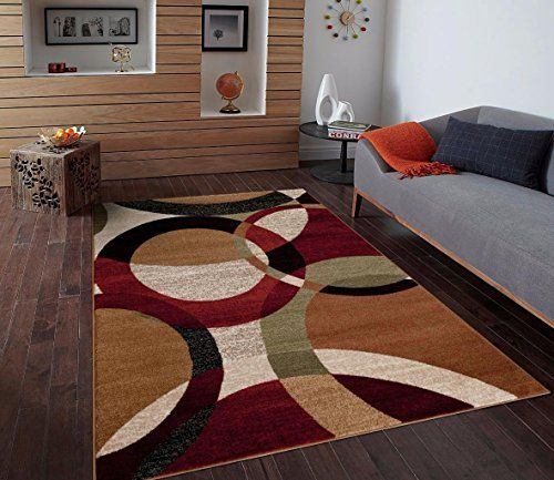 1011 Black Cream Green Rust 7 10x10 2 Burgundy Abstract Area Rug Carpet Persian Rugs Http Www Amazon C With Images Rugs On Carpet Contemporary Area Rugs Modern Area Rugs