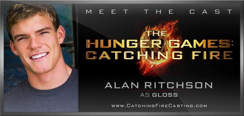 Lionsgate has announced who will be playing former District 1 victor, Gloss. And the part goes to Alan Ritchson! I like this casting alot :) Can't wait for Finnick!