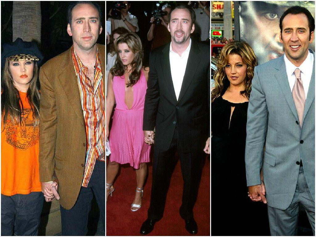 Nicolas Cage and Lisa Maria Presley 9