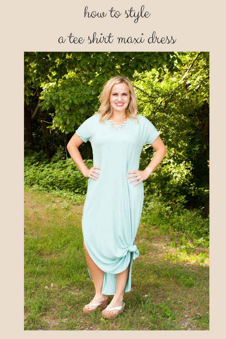 Maxi tee shirt dress in mint or violet dresses youull love