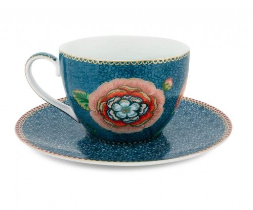 To Items Life Cappuccino Cupamp; Spring SaucerOur Studio Pip Blue 54Lj3AR