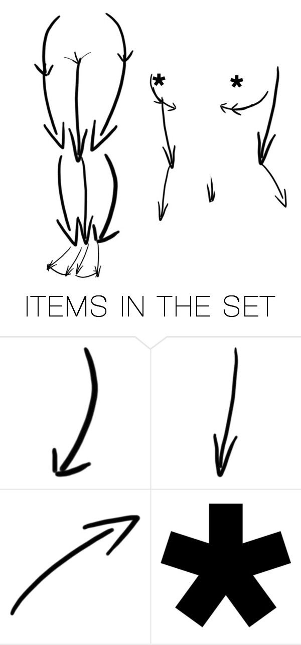 """""""Arrows"""" by painteronion ❤ liked on Polyvore featuring art and pvstyleinsider"""