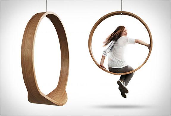 Circle Swing Rocking Chair Rocking Chair Rocking Armchair Furniture Design Modern