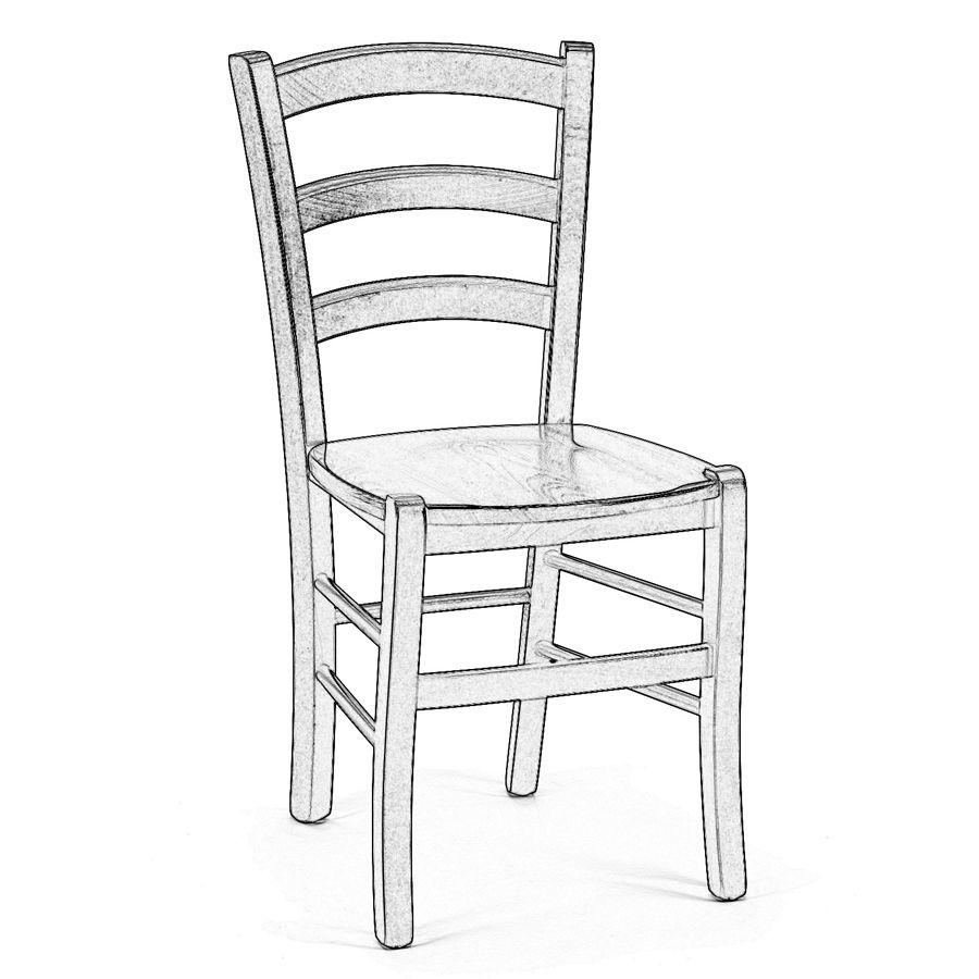 Venezia legno grezzo | Sedia legno, Legno grezzo, Legno