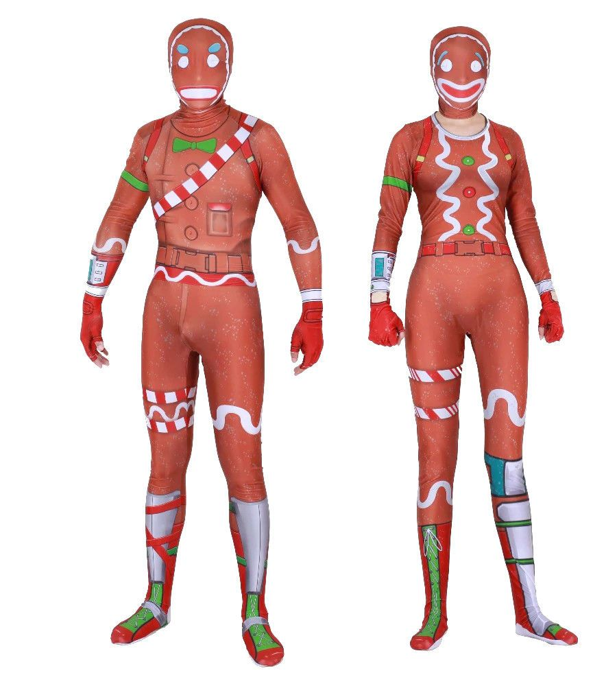 gingerbread man costume fortnite - gingerbread costume fortnite