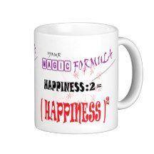 HAPPINESS MAGIC FORMULA GIFT MUG