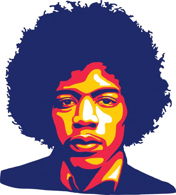 Jimi Hendrix Music Illustration Vector Art Musicgenres Music Genres Posts Jimi Hendrix Art Music Illustration Jimi Hendrix