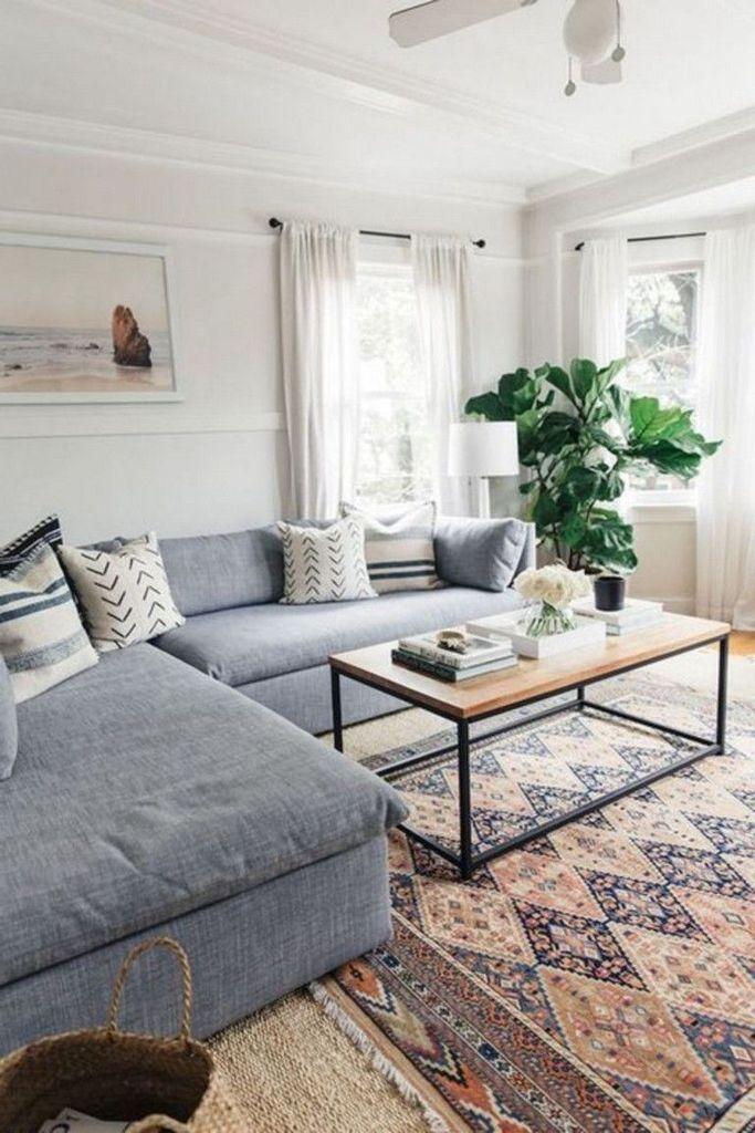 54 Minimalist Living Room Decoration For Spring on 2019 ...