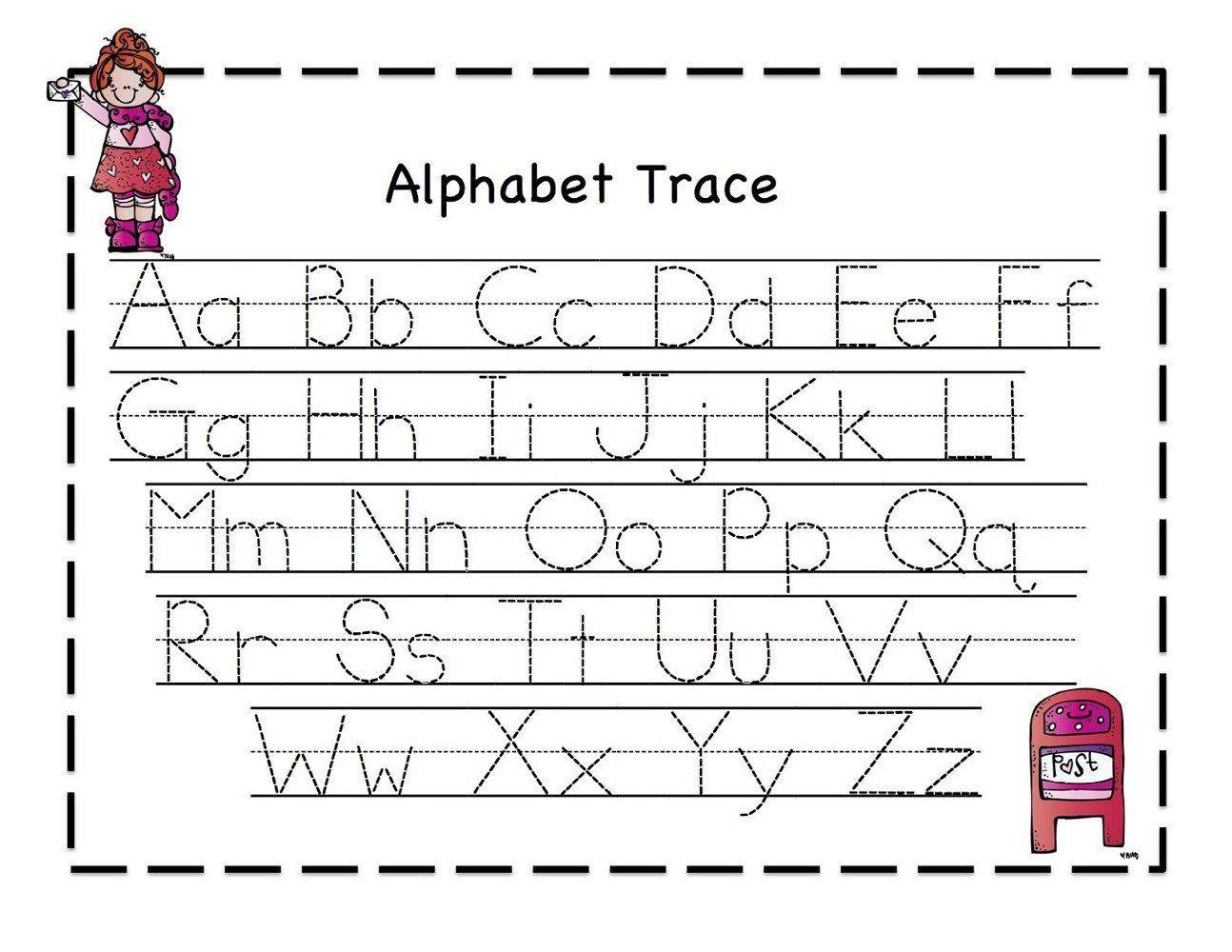 Abc Worksheet For Preschoolers Abc S Worksheet In