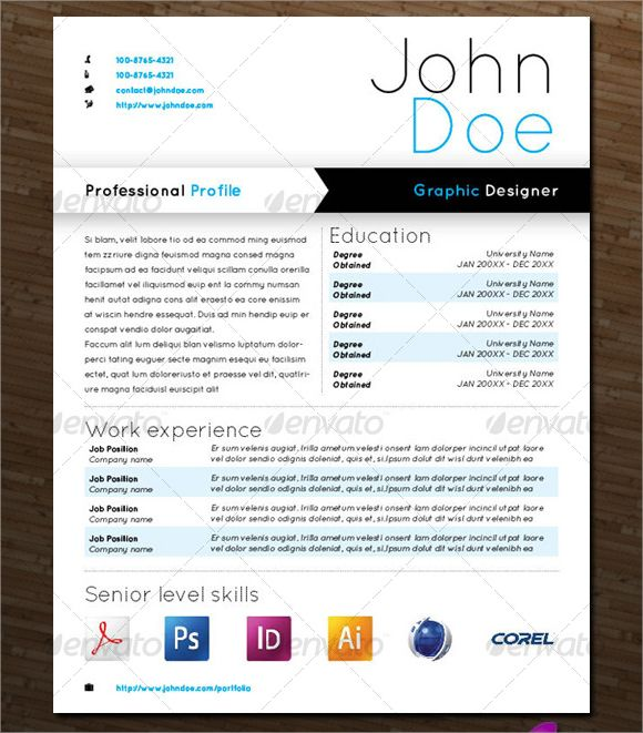 Image result for graphic design resume Resumes Pinterest