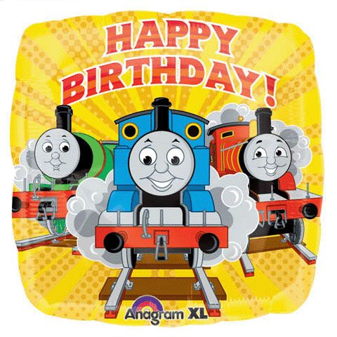 Balloons Online Delivered Australia Wide Thomas The Train Birthday Party Trains Birthday Party Happy Birthday Balloons