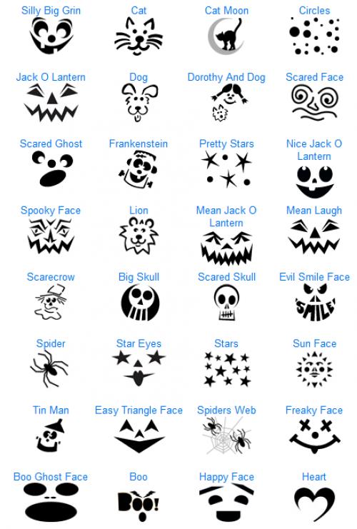 download pumpkin templates