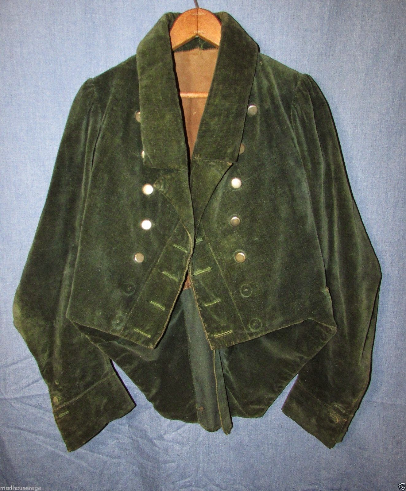 Late 18th Century Women S Riding Habit Jacket 18th Century