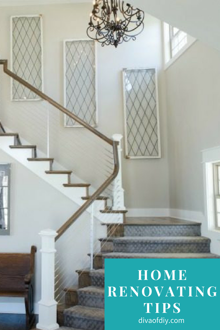 Home Renovating Tips You Can't Do Without via @divaofdiy