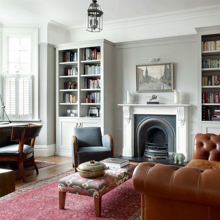 ▷ 1001 + Ideas sobre decoracion de habitación gris | Salones ...