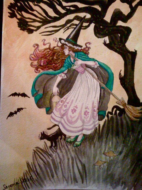 the witching hour by almightystarfish.deviantart.com on @deviantART