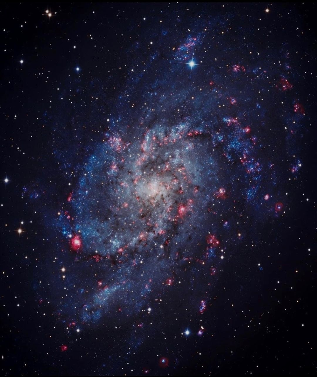 Back In Time The Triangulum Galaxy M33 Is The Third Largest In Our Local Group Of Galaxies Behind Andromeda And Our Triangulum Galaxy Galaxy Milky Way