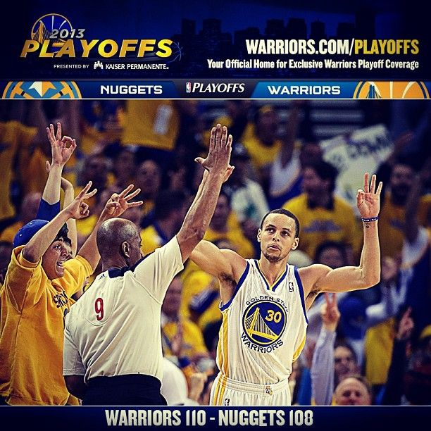 NOW THAT WAS FUN! The Warriors Took A 2-1 Series Lead