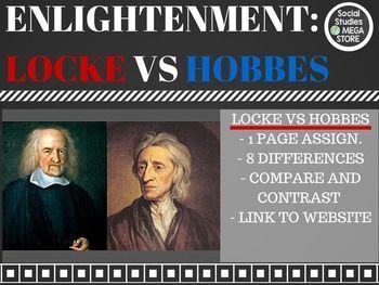 similarities between john locke and thomas hobbes