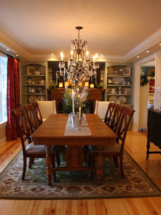 Dining room stone wall fireplace design pictures - Living room dining room with fireplace ...