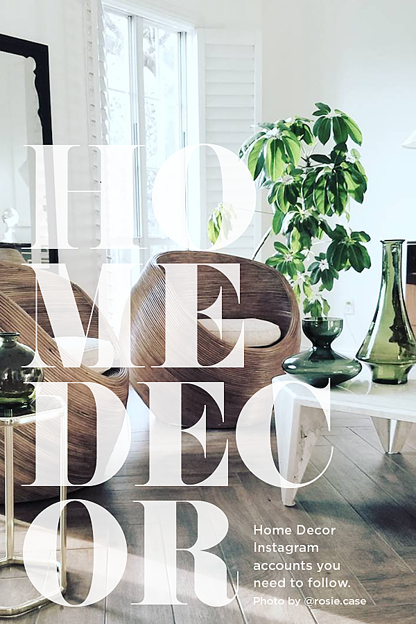 7 Home Decor Instagram Accounts To Follow House Of Hipsters On