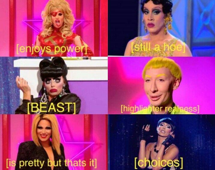 Season 2 Of All Stars Sumed Up Rupauls Drag Race Meme Rupauls Drag Race Drag Racing