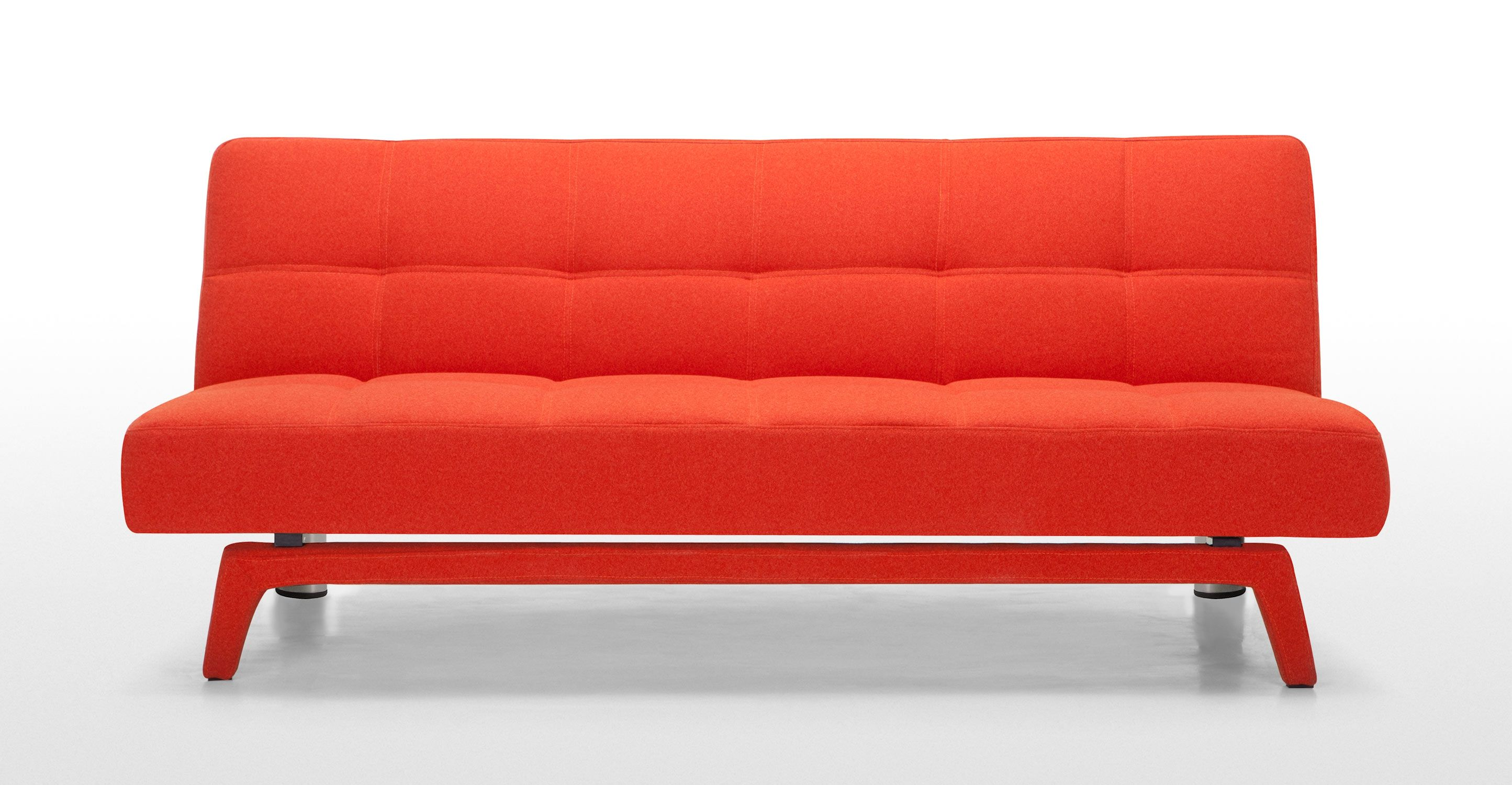 Yoko Sofa Bed Saffron Orange Sofa Bed Compact Sofa Bed Sofa Bed For Small Spaces