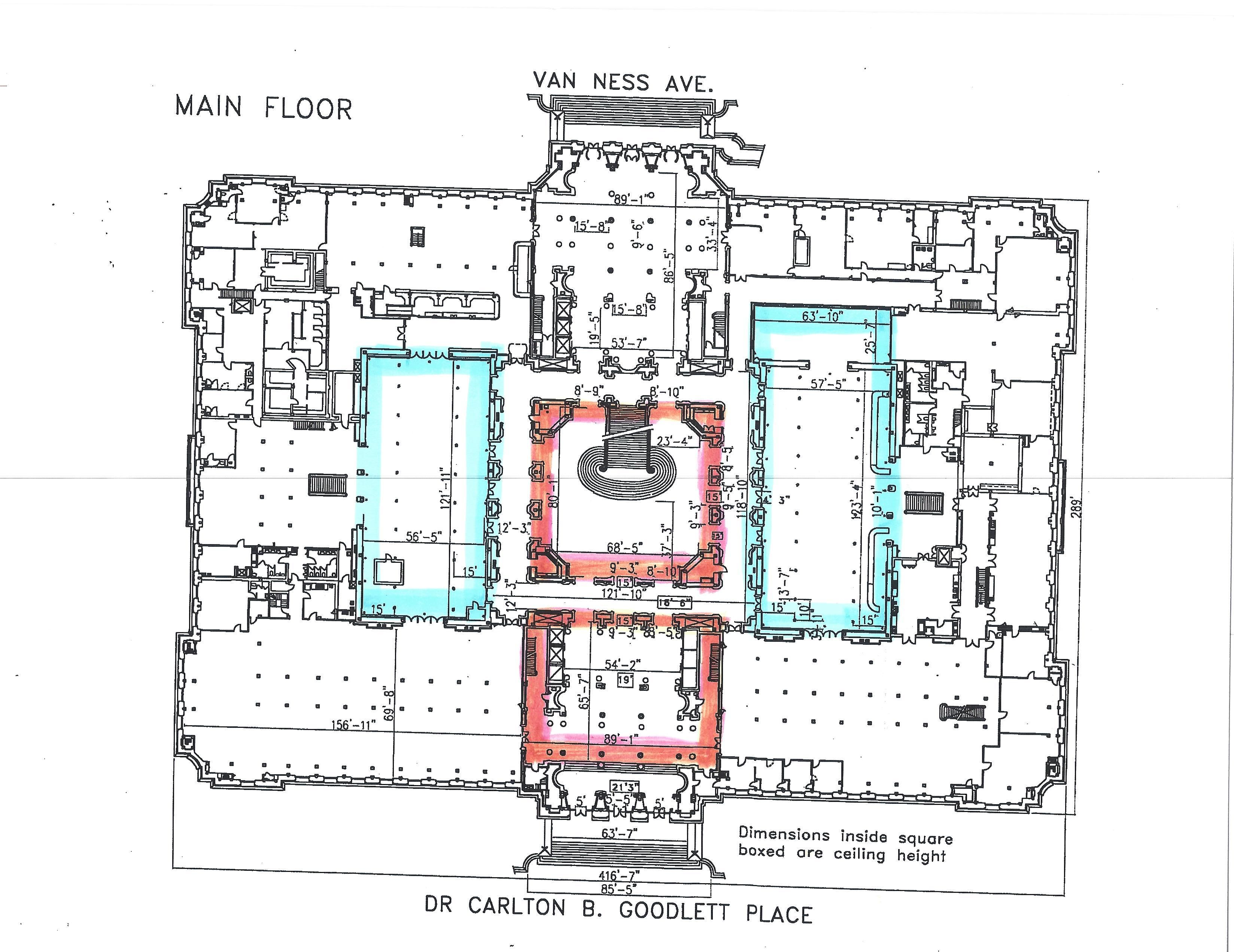 City Hall Floor Plan Hall Flooring Floor Plans Ceiling Height
