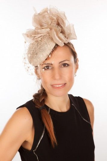 f05634423bf0d Snoxell Gwyther - Fascinator (Champagne) - Fascinators | Bridal Fascinators