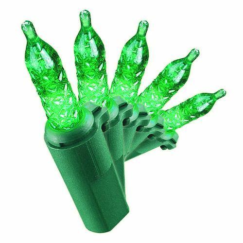 70lt Led Green Mini Light Set At, Outdoor Timer For Lights Menards