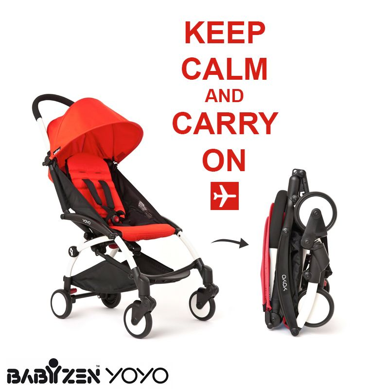 Great news for jetsetting parents the BabyZen Yoyo