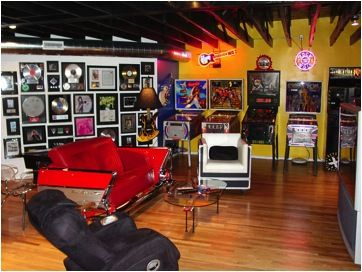 building the geek s ultimate man cave on a budget man on smart man cave basement ideas id=54623