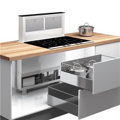 Hotte cuisine Airforce coulissante DOWNDRAFT 80 cm Kitchen - hotte de cuisine  cm