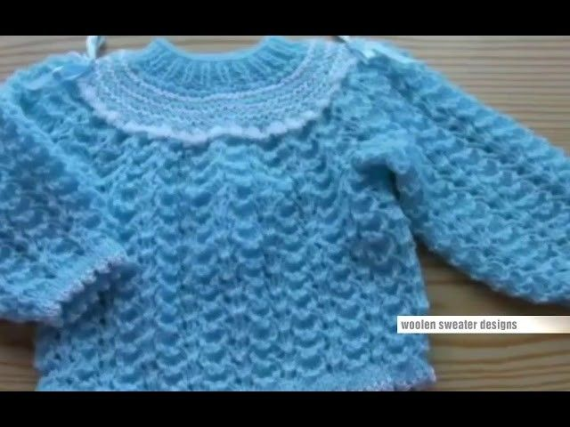 New Sweater Design For Kids Or Baby In Hindi Knitting Design