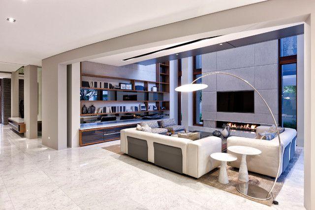 Italian Carrara Marble Flooring In Living Room Carraratiles