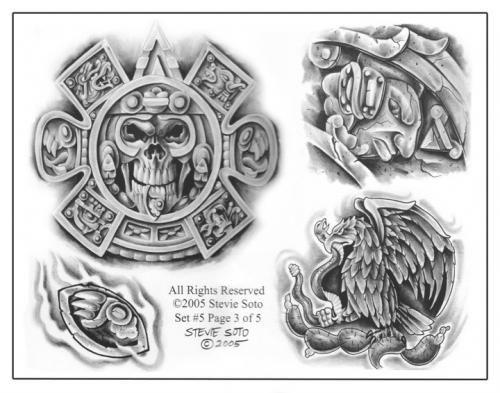 simbolos mexicanos tattoo diseños - Buscar con Google   Aztec ...