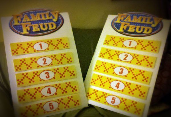 Survey Says: Making a Family Feud Game Board | Family