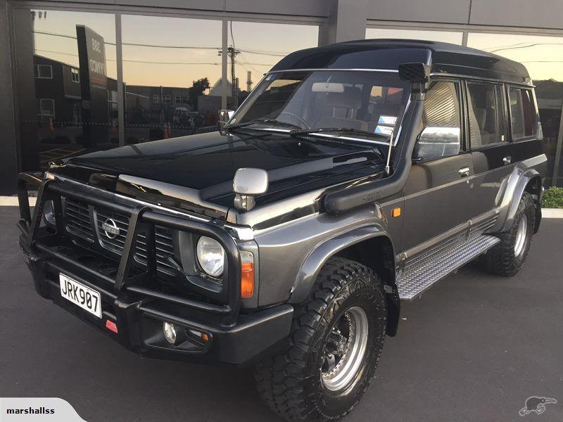 Nissan Safari GRANDROAD 5 SPD 1 OWNER 127KMS! 1993 | Trade Me | 4 ...