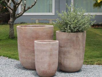 terracotta krukker