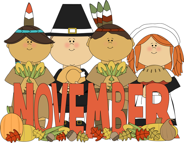 Image result for happy november clipart