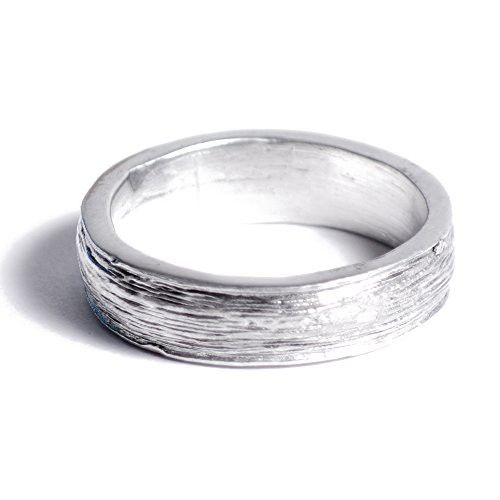 10th Anniversary Gift Idea Tin Ring For Him Inscribed With Ten
