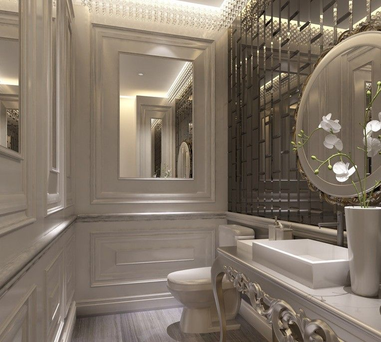 European Style Luxury Bathroom Design