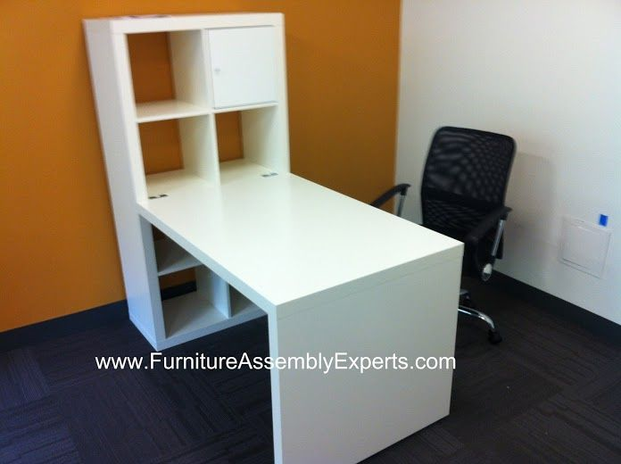 Ikea Expedit Desk Assembled In Bethesda MD By Furniture Assembly Experts LLC