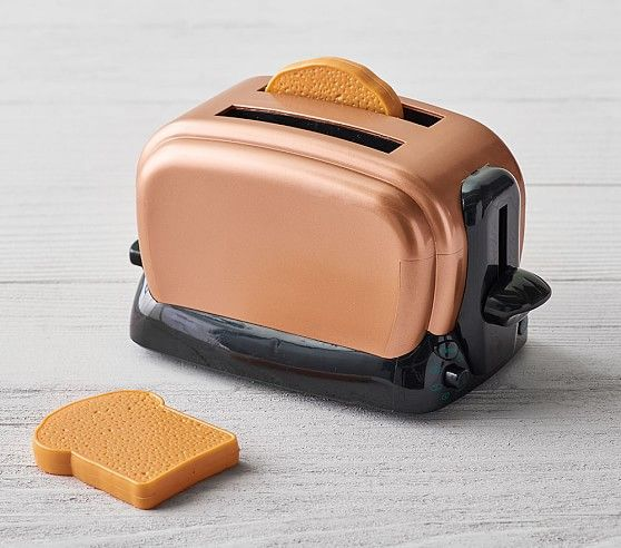 Copper Kitchen Toaster Toy Kitchen Accessories Pottery