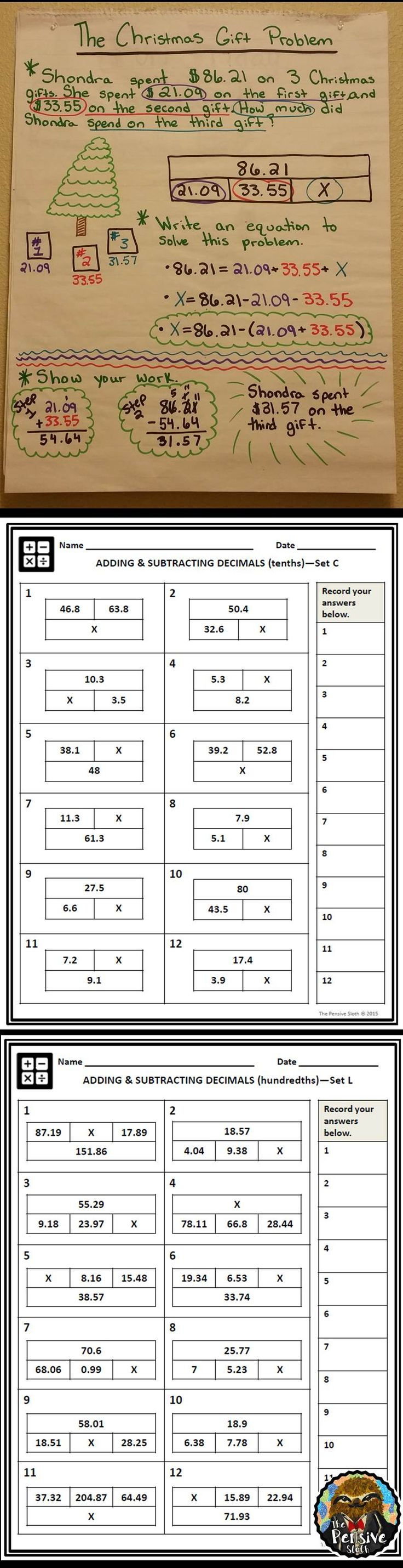 4th grade tape strip diagram worksheets for adding and 4th grade tape strip diagram worksheets for adding and subtracting decimals robcynllc Gallery
