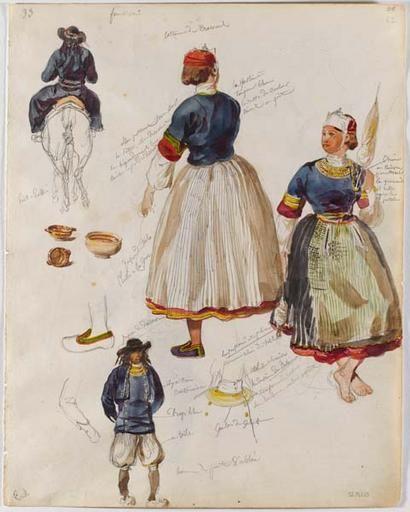 François,Hippolyte Lalaisse Costume de Pont,l\u0027Abbé